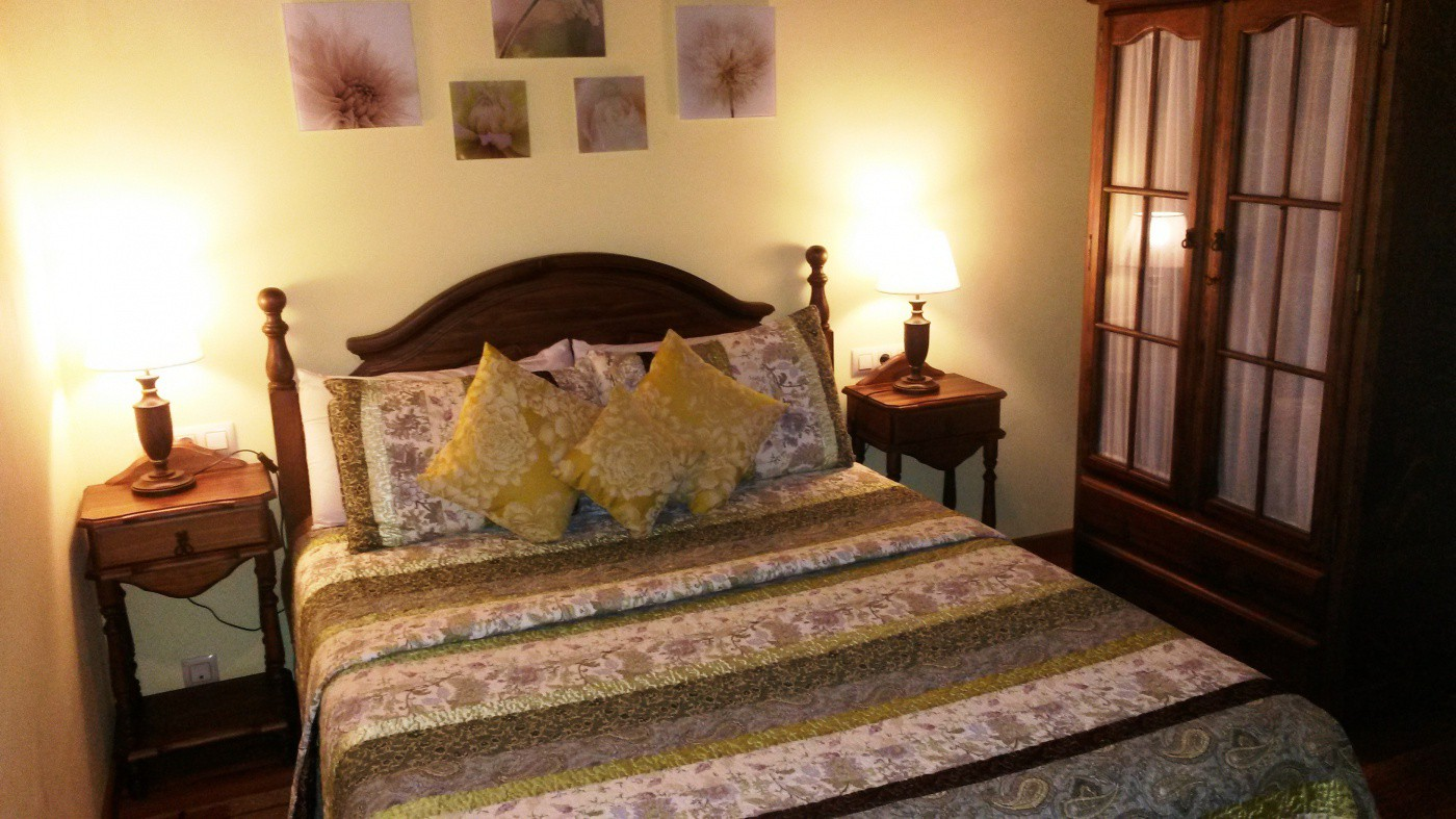 double bedroom with viscolastic matress perfect for relax and rest